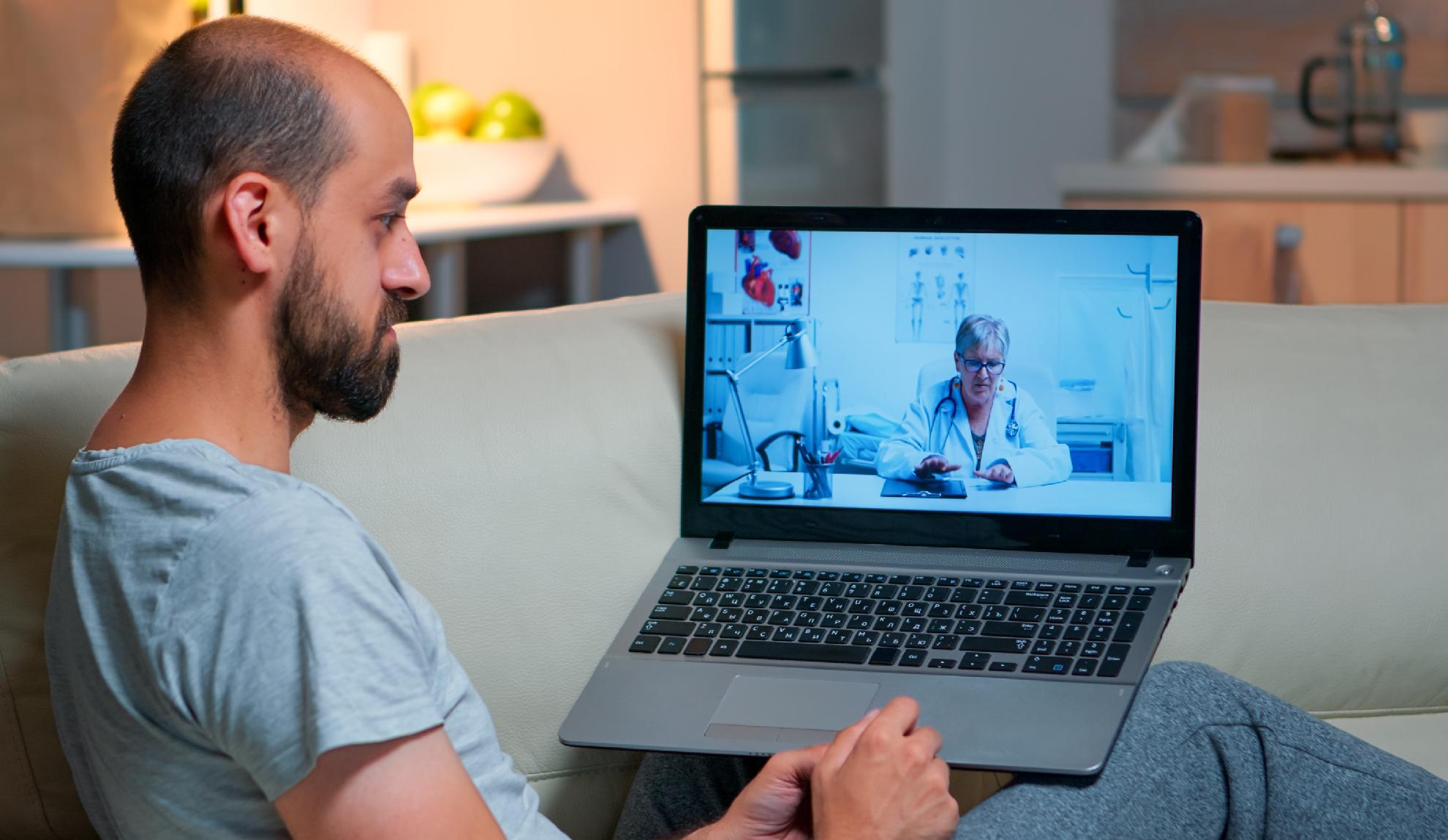 La telemedicina evita el colapso en los centros de salud