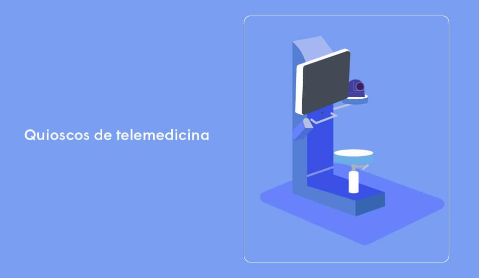 quiscos de telemedicina