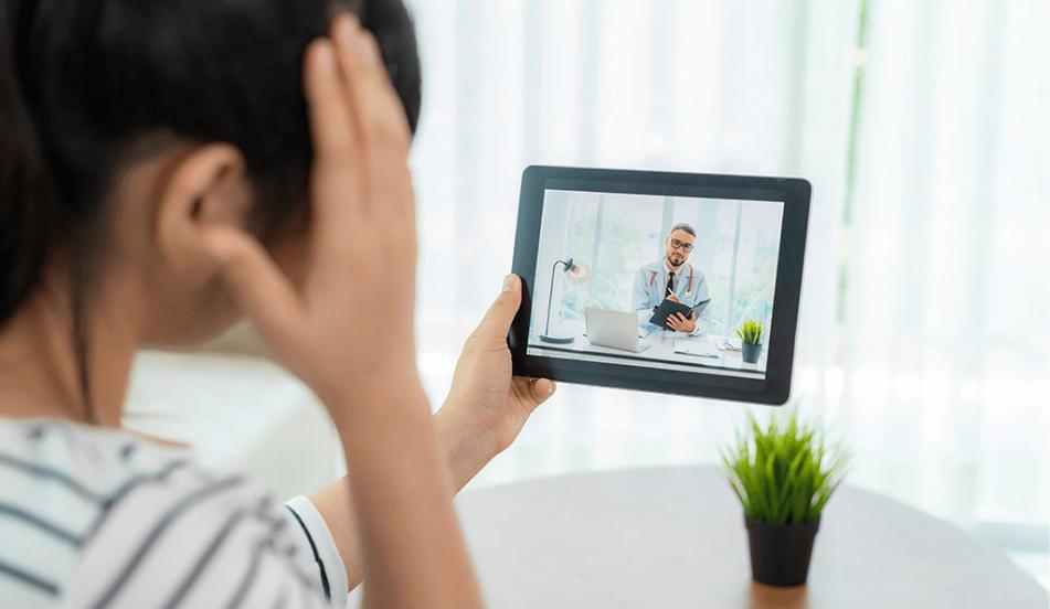 tipo de telemedicina de servicio interactivo en tiempo real