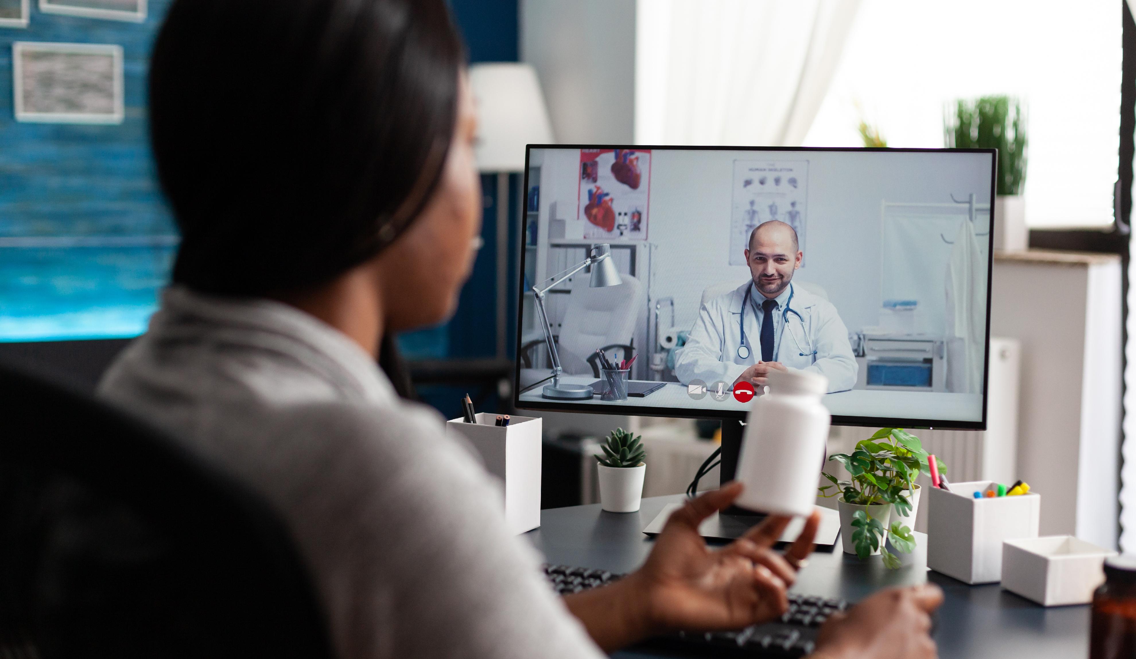 La telemedicina permite monitorear a pacientes con covid